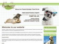 Tail Blazers Health Food Store for Pets