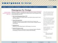 Emergence by Design