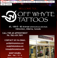 Off Whyte Tattoos