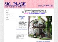 Sig Plach Couturier & Fabric
